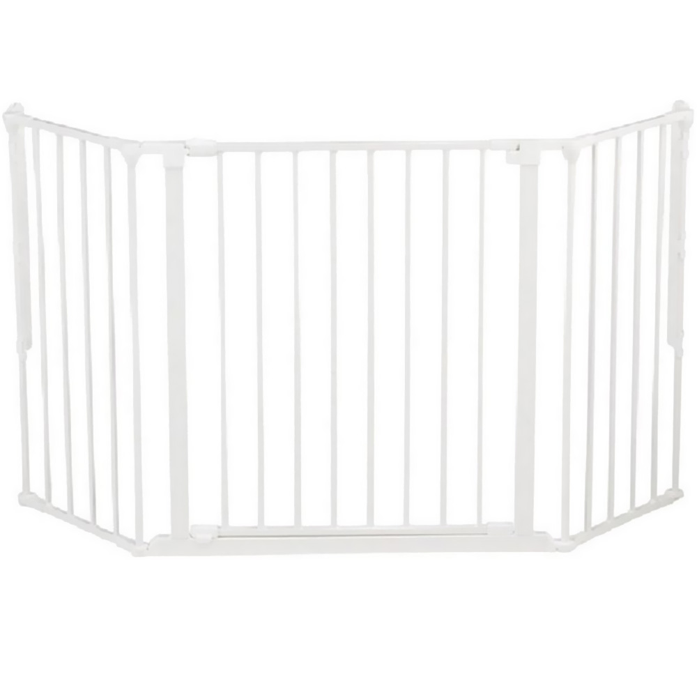 BABYDAN-FLEX-GATE-WHITE-MEDIUM
