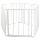 "BabyDan Flex XXL Room Divider / Playspace - White (35.4""-138"")"