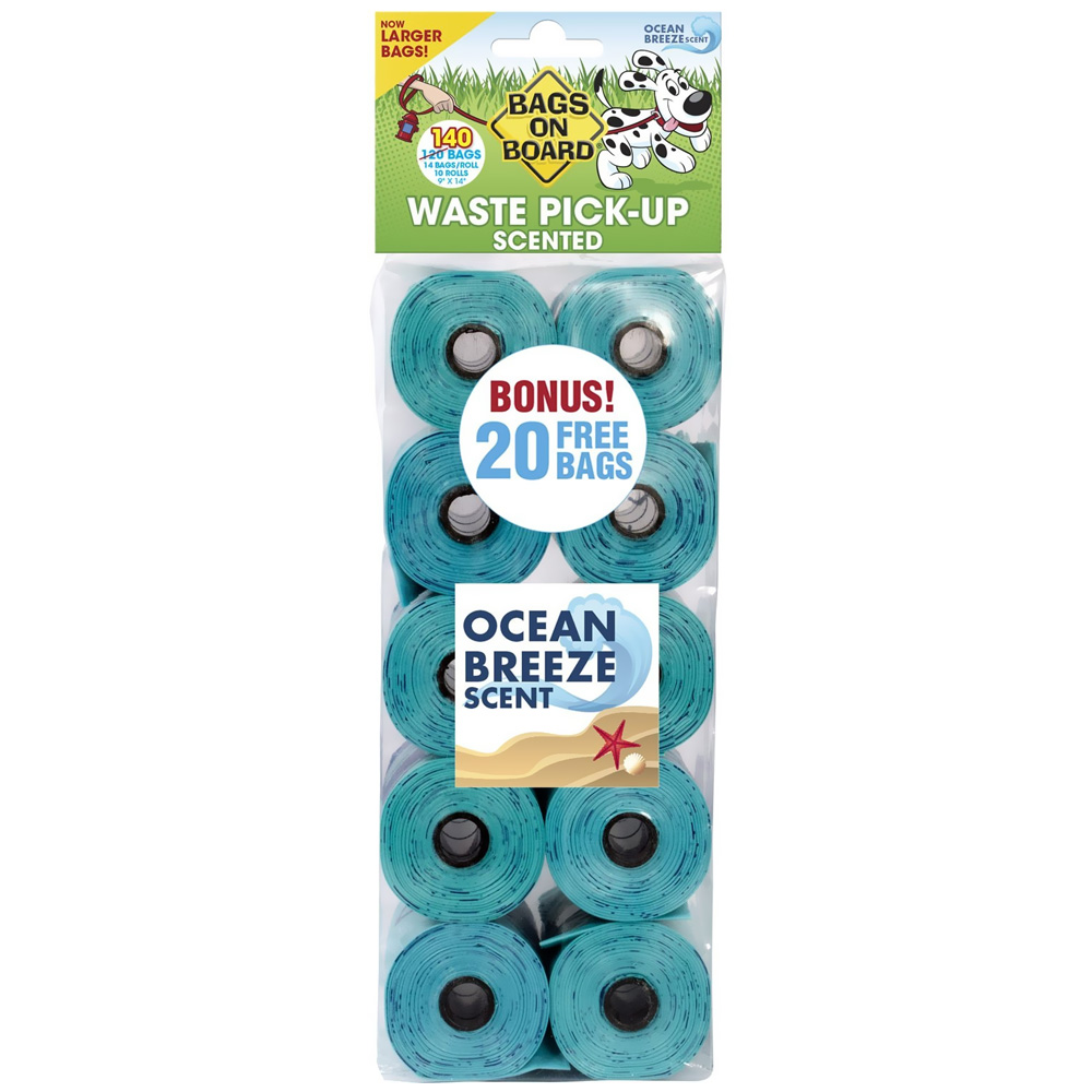 Bags on Board Refill Bags - Ocean Breeze Scented (140 bags) im test