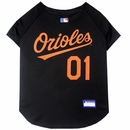 Baltimore Orioles Dog Jersey - XSmall