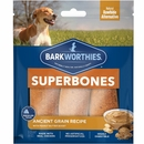 Barkworthies SuperBone Ancient Grain with Peanut Butter - Regular (3-Pack)