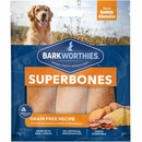 Barkworthies SuperBone Grain Free with Bacon, Cheese, & Sweet Potato - Regular (3-Pack)
