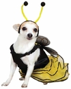 Bee Mine Dog Costume Yellow - SMALL