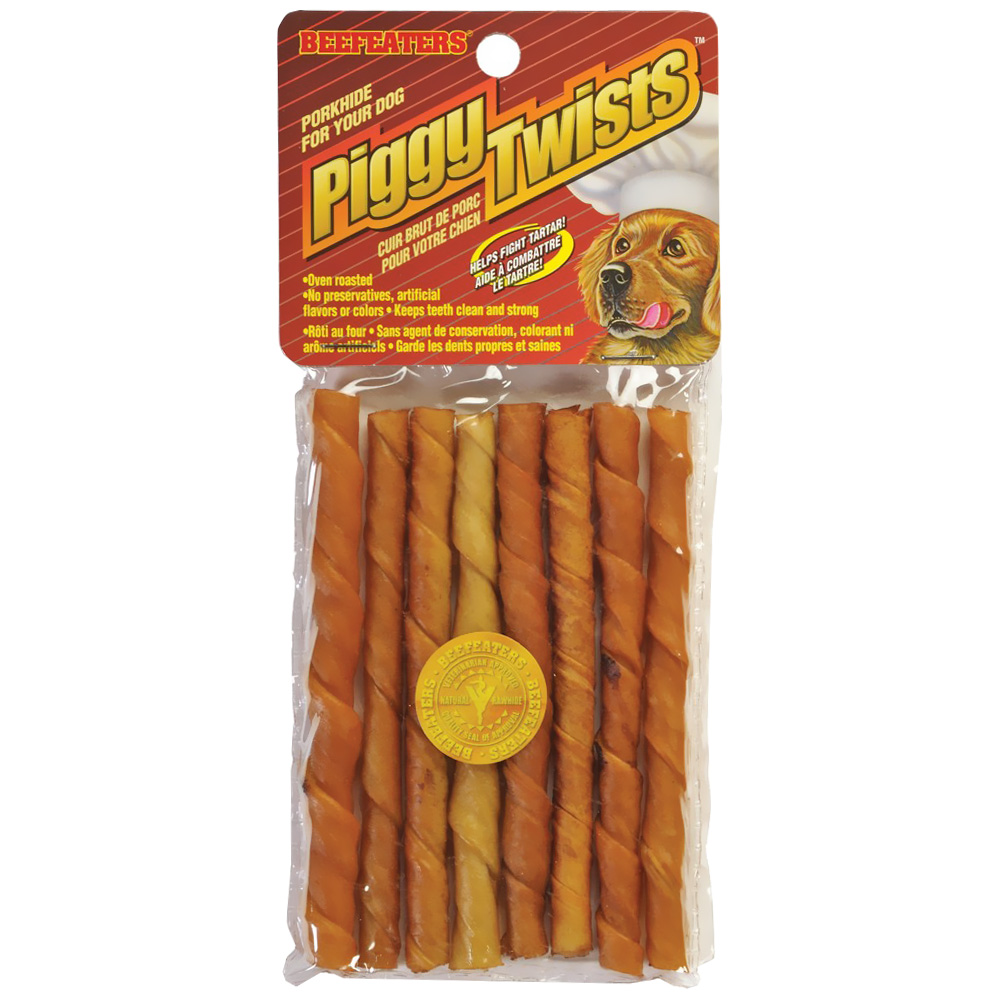 Beefeaters Piggy Twists (8 Pack) im test