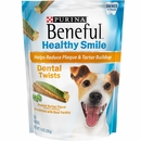 Beneful Healthy Smile - Dental Twists Dog Treats - Small/Medium (7.4 oz)