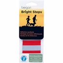 Bergan Bright Steps Reflective Leg Bands - Medium Red