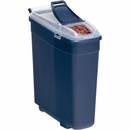 "Bergan Pet Food Smart Storage - Medium Blue (18"" x 7"" x 17"")"