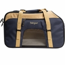 "Bergan Pet Top Opening Comfort Carrier - Large Navy (19"" x 10"" x 13"")"