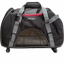 "Bergan Wheeled Pet Comfort Carrier - Large Black/Gray (19"" x 10"" x 13"")"