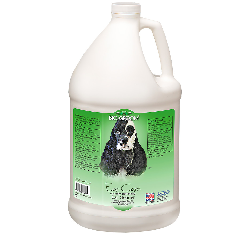 Bio-Groom Ear-Care Ear Cleaner - 1 Gallon - For Dogs - from EntirelyPets