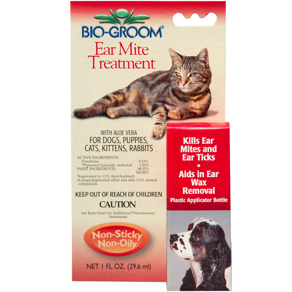 Bio-Groom Ear Mite Treatment - 1 oz - For Dogs - from EntirelyPets