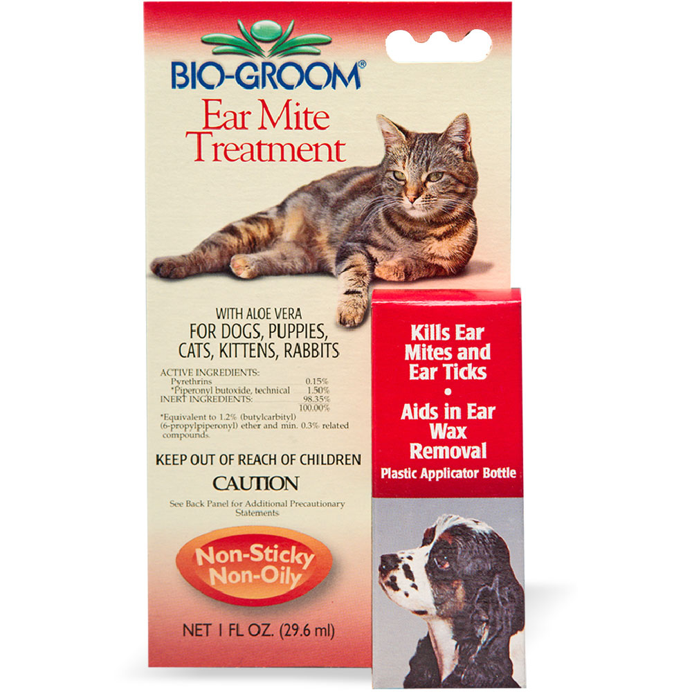 Image of Bio-Groom Ear Mite Treatment (1 oz)