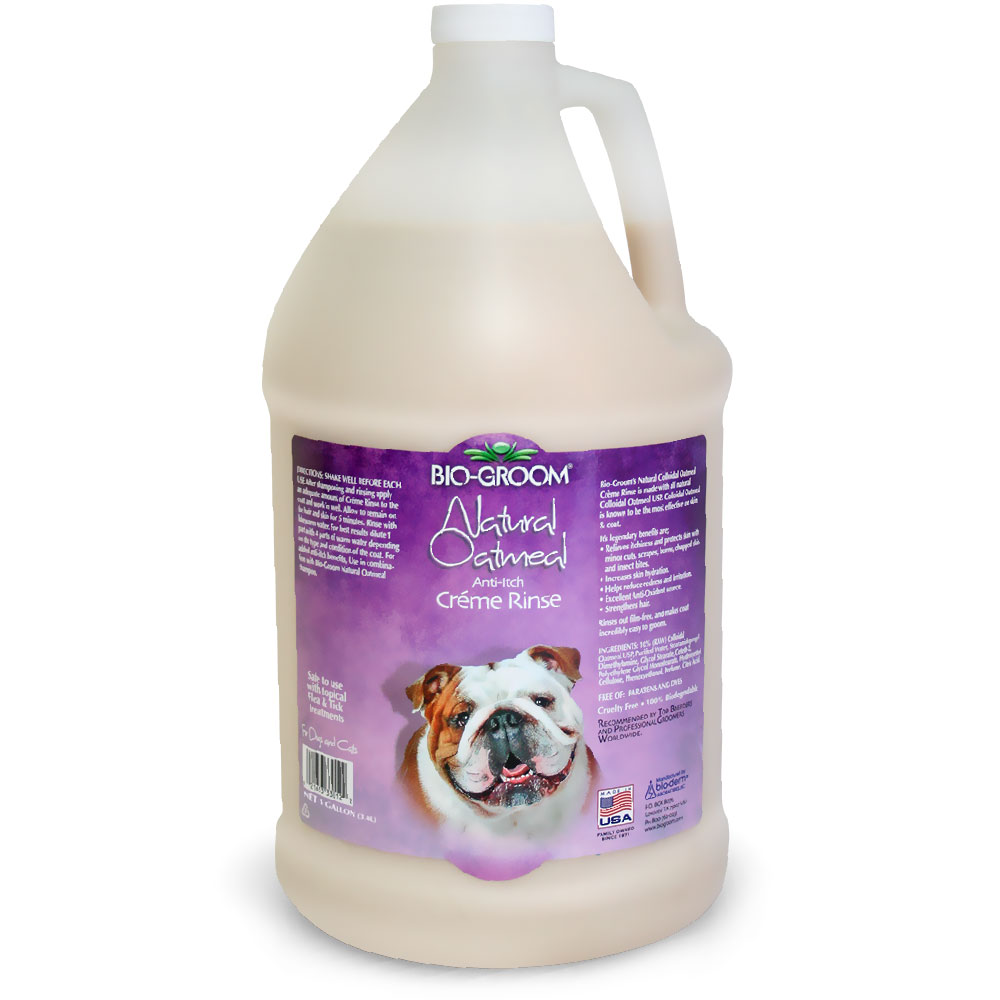 Image of Bio-Groom Natural Oatmeal Creme Rinse Conditioner (1 Gallon)