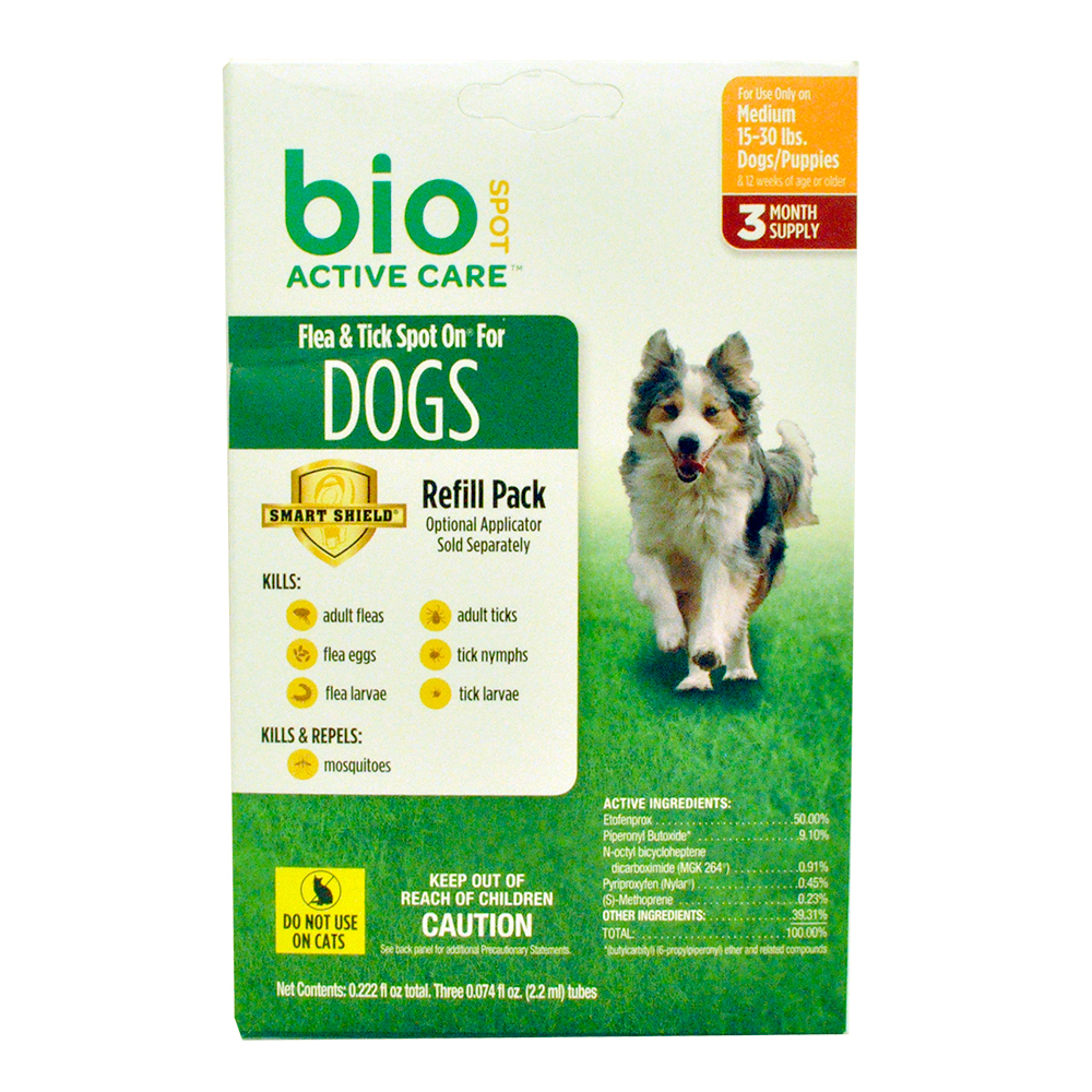 BIO-SPOT-FLEA-TICK-SPOT-ON-REFILL-MEDIUM-DOGS