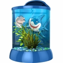 "BioBubble 3D Background for AquaTerra 1 - Gallon Blue (7.5"" x 7.5"" x 10"")"