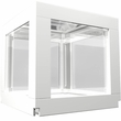 "BioBubble Deco Cube Habitat 1 pack 0.5 Gallons - White (5.5"" x 5.5"" x 6"")"