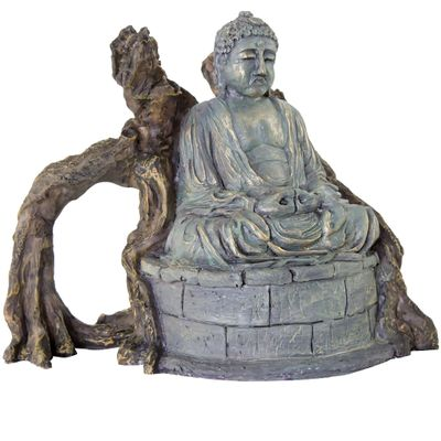 "BioBubble Decorative Amida Buddha (8"" x 6.5"" x 6.5"")"