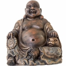 "BioBubble Decorative Laughing Buddha (4.25"" x 3.75"" x 4.5"")"