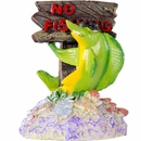 "BioBubble Decorative No Fishing Sign (3"" x 2.75"" x 4"")"
