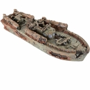 "BioBubble Decorative Sunken Torpedo Boat (12.5"" x 4.25"" x 2.75"")"