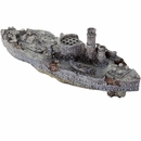 "BioBubble Decorative USS Monitor (10.25"" x 3.25"" x 3.75"")"