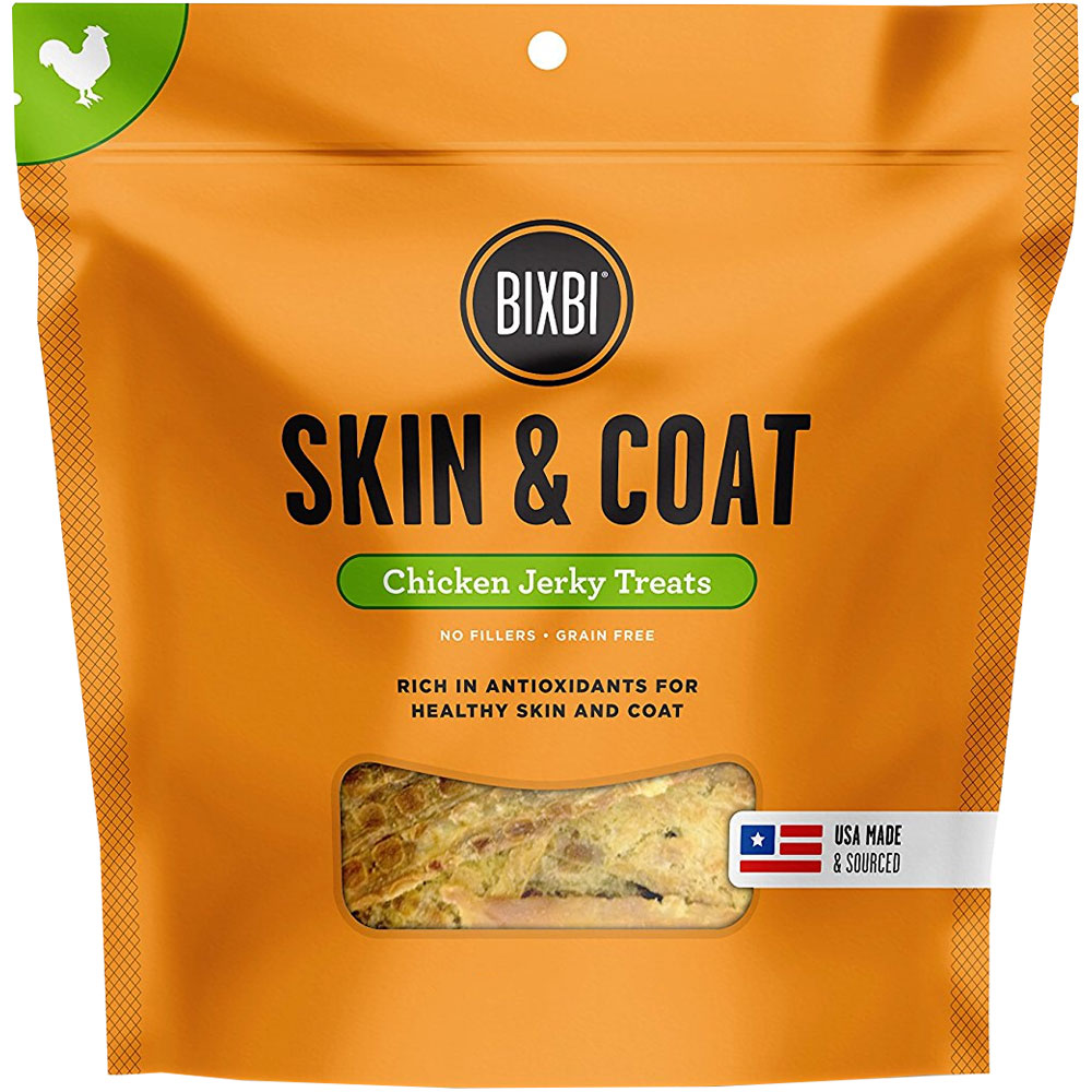 Bixbi Skin & Coat Chicken Breast Jerky Treats (12 oz) im test