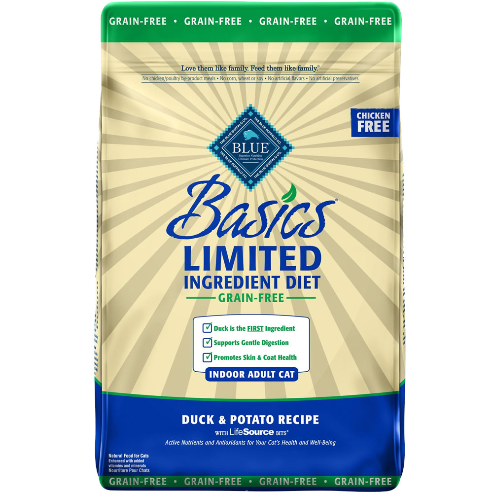 BLUE-BASICS-GRAIN-FREE-DUCK-POTATO-CATS-11-LB