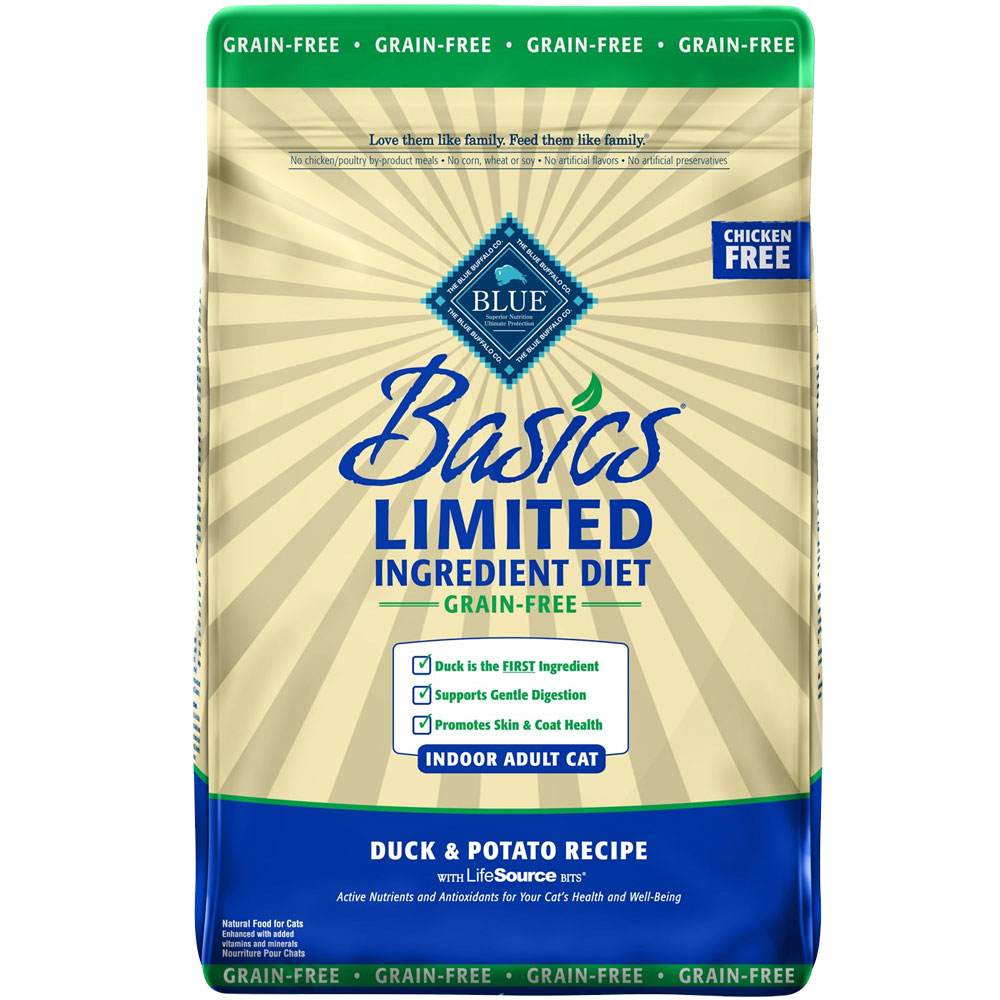 BLUE-BASICS-GRAIN-FREE-DUCK-POTATO-CATS-5-LB