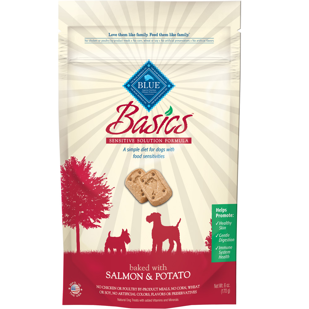 Image of Blue Buffalo Basics Salmon & Potato Biscuits (6 oz)