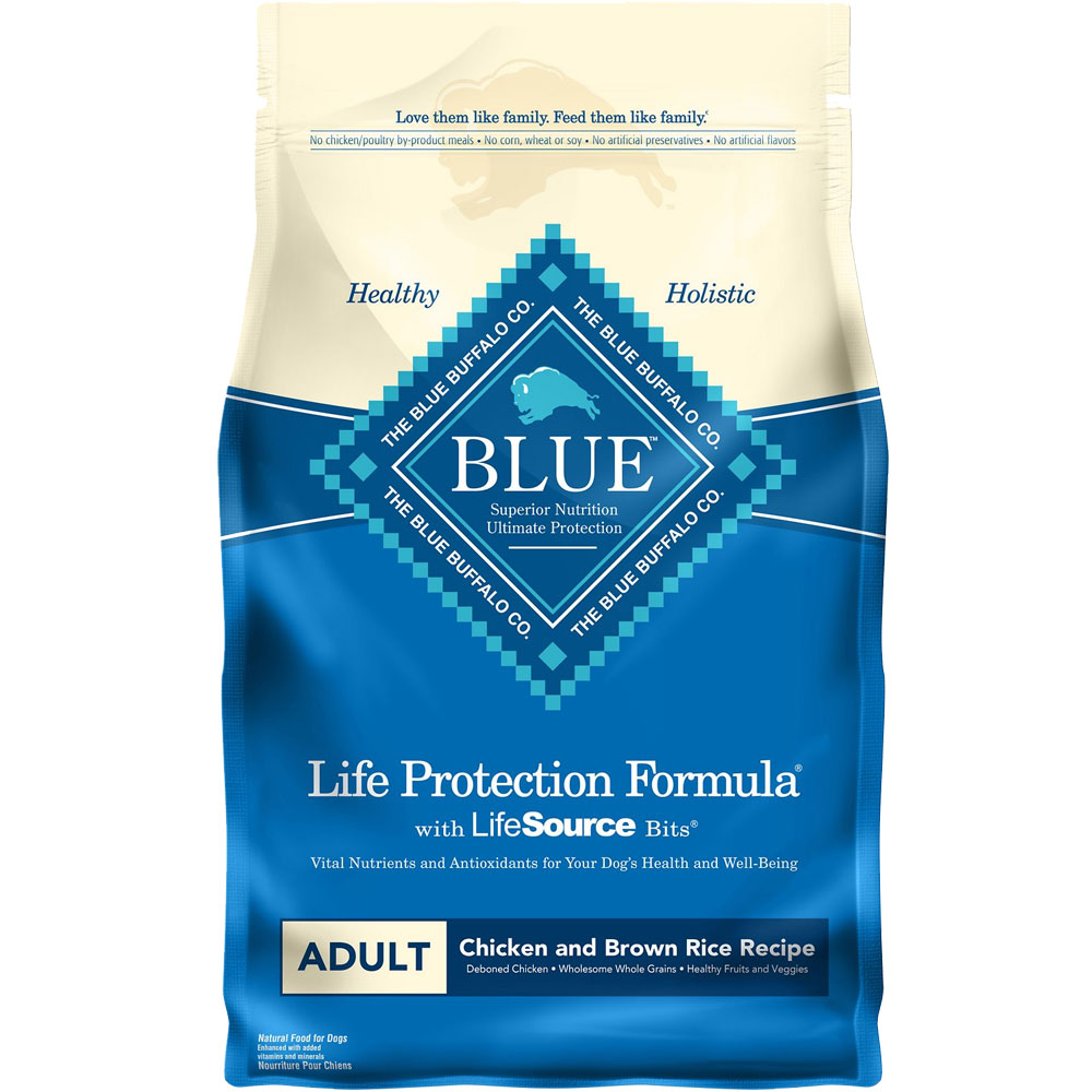 Blue Buffalo Life Protection Adult - Chicken & Brown Rice (6 lb) im test