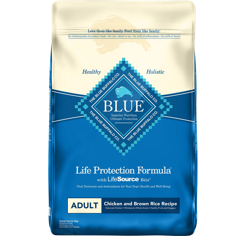 Blue Buffalo Life Protection Adult - Chicken & Brown Rice (15 lb) im test