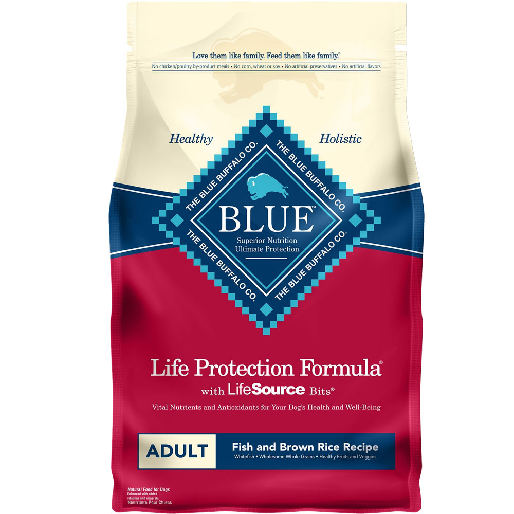 Blue Buffalo Life Protection Adult - Fish & Brown Rice (6 lb) im test