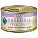 Blue Buffalo Freedom - Chicken Recipe Indoor Kitten Canned Cat Food (24x3oz)
