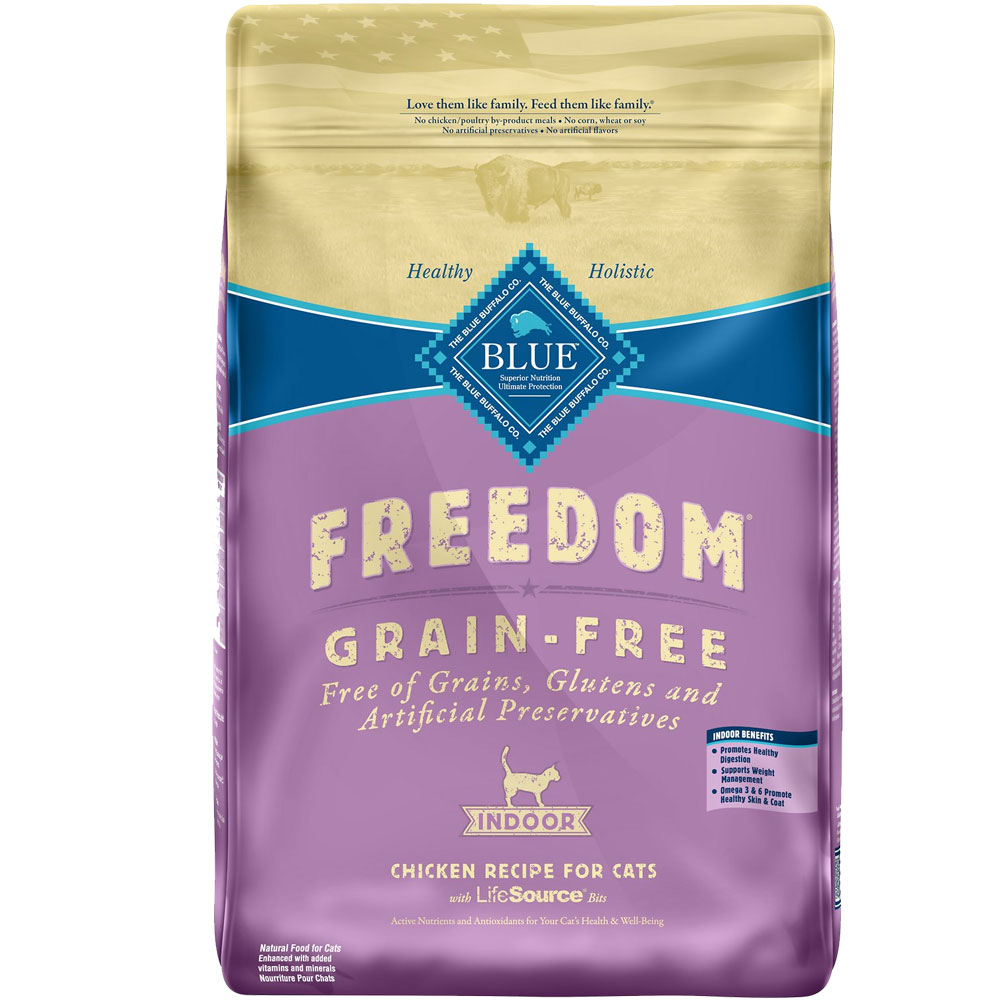 Blue Buffalo Freedom Grain-Free Indoor Recipe (11 lb) im test