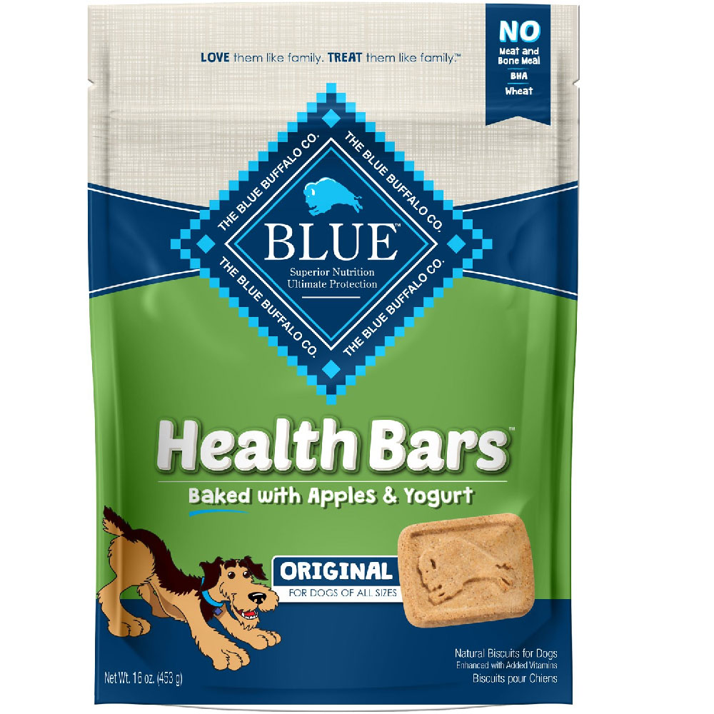 Image of Blue Buffalo Health Bars - Apple & Yogurt (16 oz)