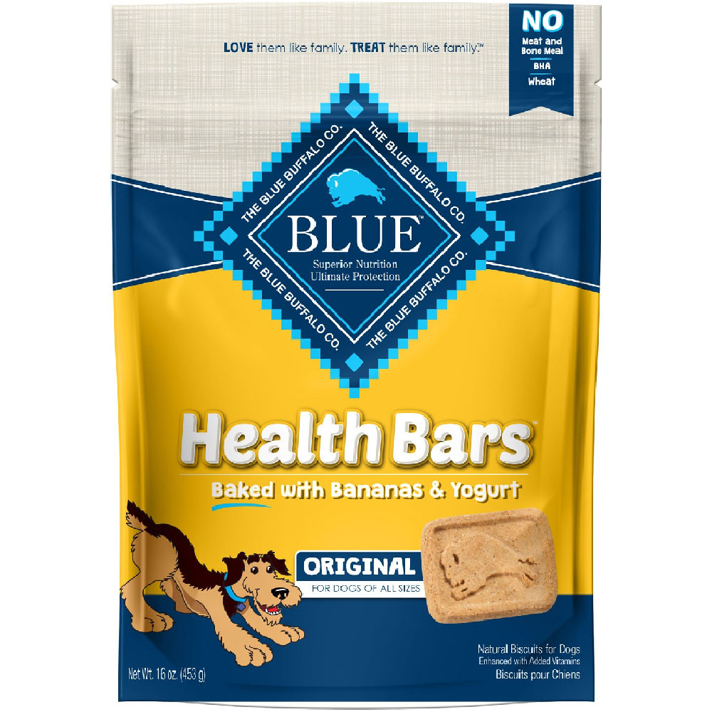 Image of Blue Buffalo Health Bars - Banana & Yogurt (16 oz)