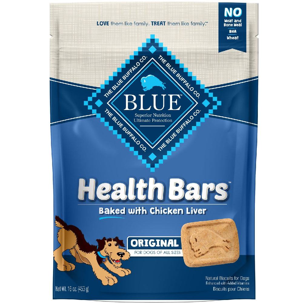 Image of Blue Buffalo Health Bars - Chicken & Liver Crunch (16 oz)