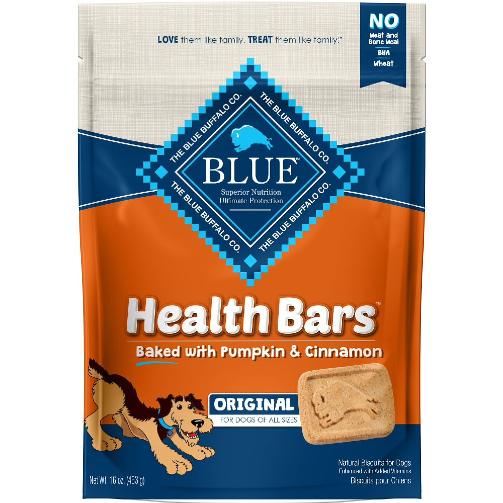 Image of Blue Buffalo Health Bars - Pumpkin & Cinnamon (16 oz)