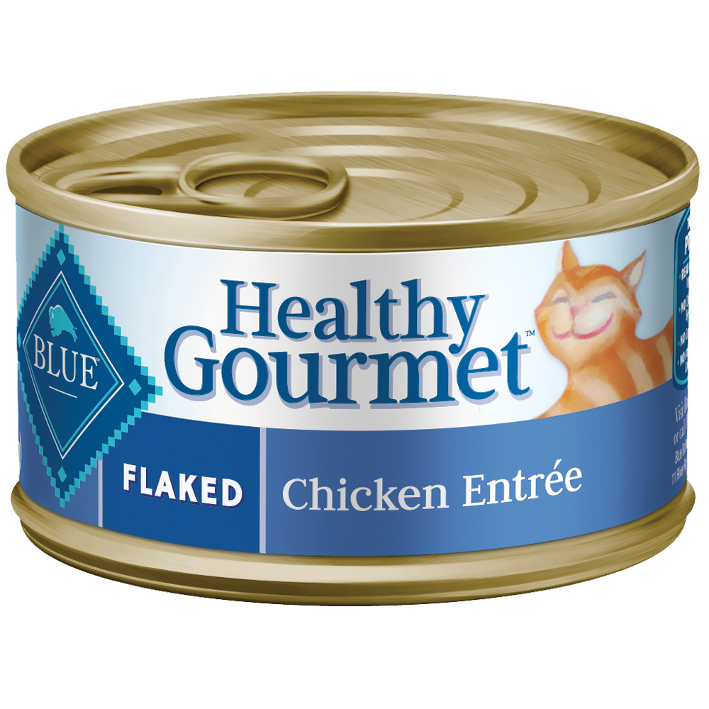 Blue Buffalo Healthy Gourmet - Flaked Chicken Canned Cat Food (24x5.5 oz) im test