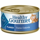 Blue Buffalo Healthy Gourmet - Flaked Tuna Entree Canned Cat Food (24x3 oz)