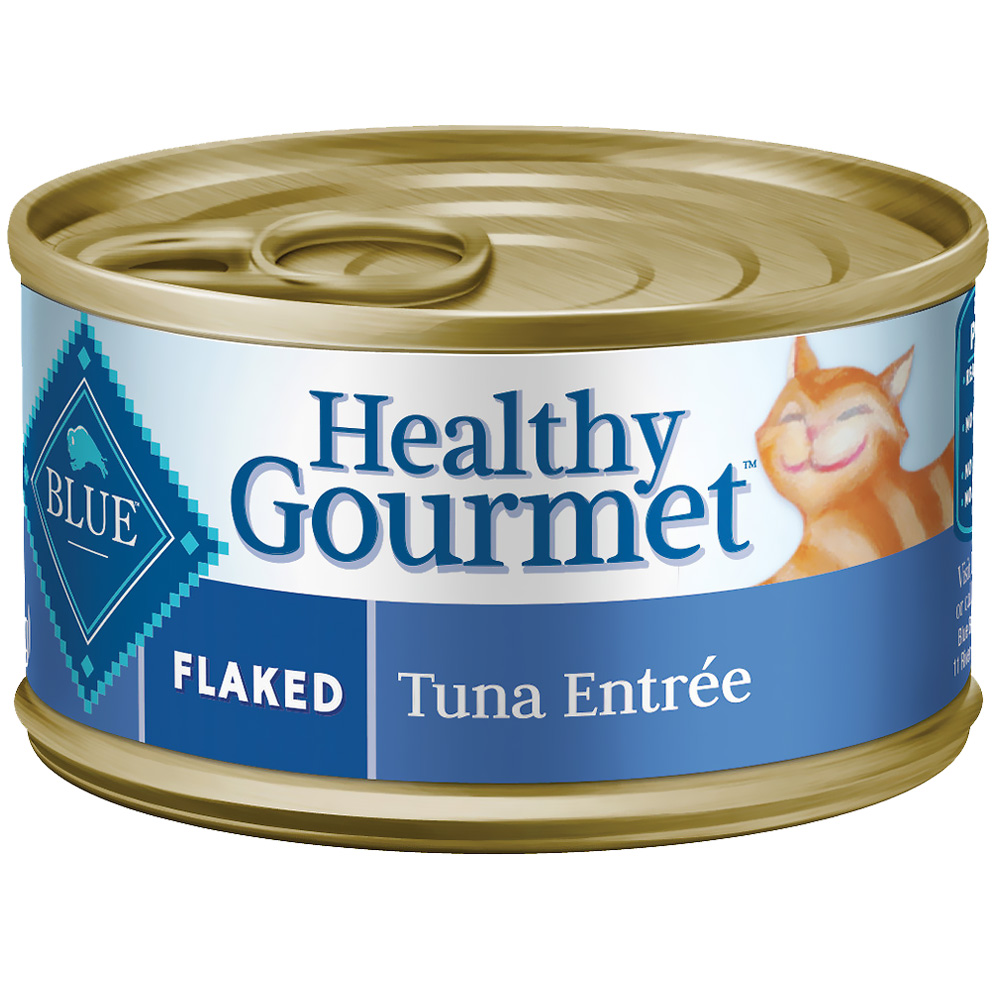 Blue Buffalo Healthy Gourmet - Flaked Tuna Entree Canned Cat Food (24x3 oz) im test