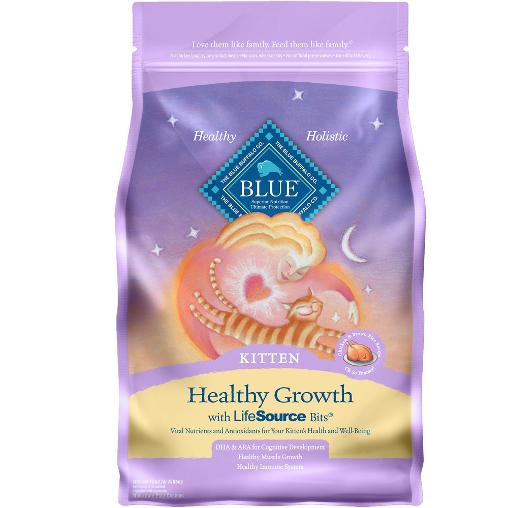 Blue Buffalo Healthy Growth Kitten Chicken & Brown Rice Recipe (7 lb) im test