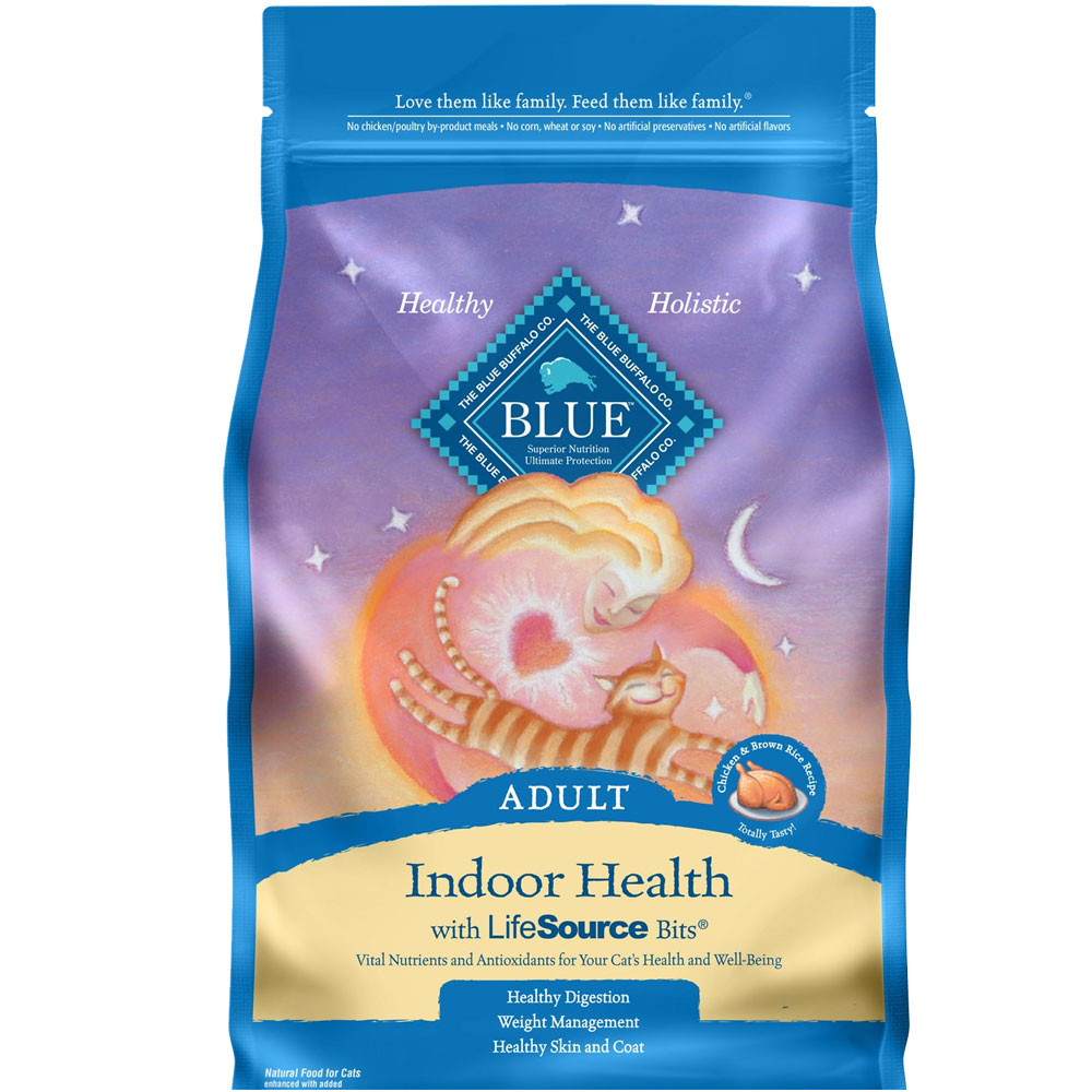 Blue Buffalo Healthy Living Indoor Chicken & Brown Rice Recipe for Cats (7 lb) im test