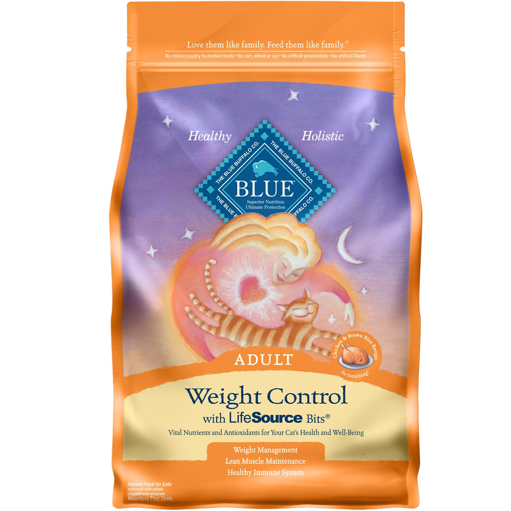 Blue Buffalo Healthy Living Weight Control Chicken & Brown Rice Recipe for Cats (7 lb) im test