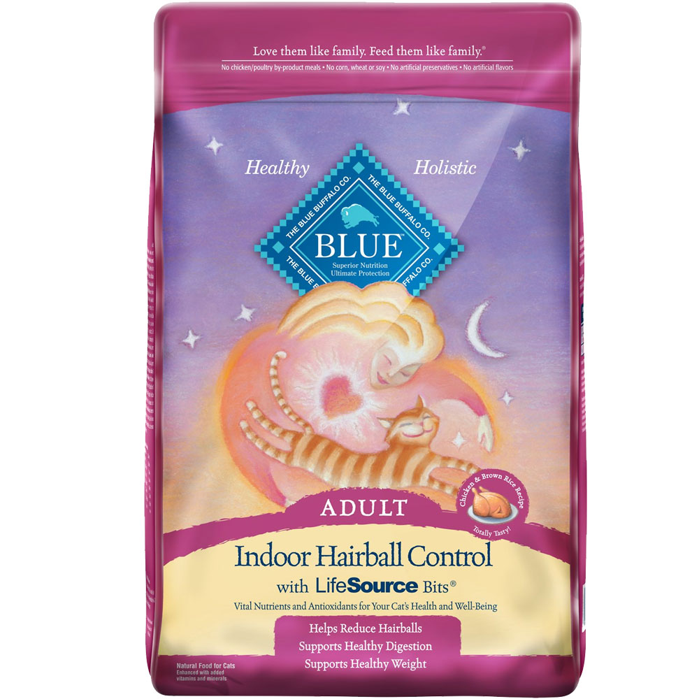 BLUE-BUFFALO-HAIRBALL-CONTROL-CHICKEN-CAT-FOOD-15LB