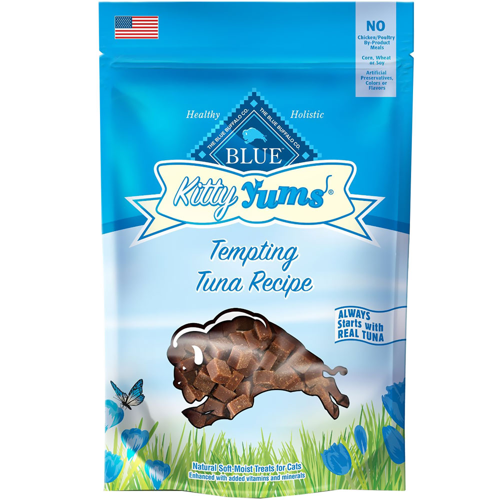Image of Blue Buffalo Kitty Yums Tempting Tuna Cat Treats (2 oz)