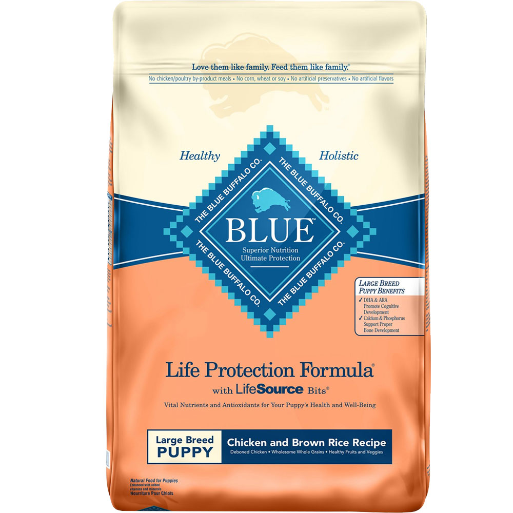 Blue Buffalo Life Protection Large Breed Puppy - Chicken & Brown Rice (30 lb) im test