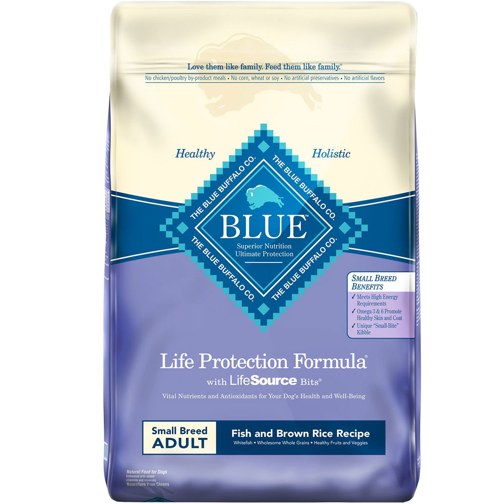 Blue Buffalo Life Protection Small Breed Adult - Fish & Brown Rice (15 lb) im test