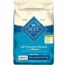 Blue Buffalo Life Protection Formula - Small Bites Chicken & Brown Rice Recipe Adult Dry Dog Food (15 lb)