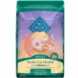 Blue Buffalo Multi-Cat Health - Chicken & Turkey Recipe Adult Dry Cat Food (15 lb)